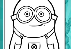 Cute Minions Online Coloring