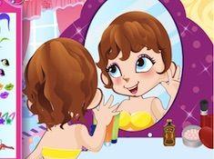 Cute Mirror Girl