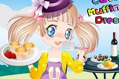 Cute Muffin Girl Dress Up