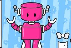 Cute Robot Girl