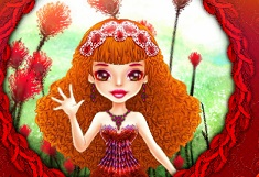 Cute Thumbelina Dress Up