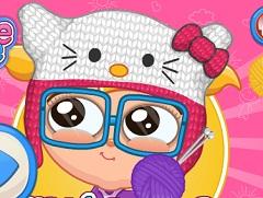 CUTEZEE KNITTING ACADEMY - GIRL GAMES  CUTEZEE KNITTIN...