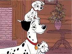 Dalmatians Family Puzzle