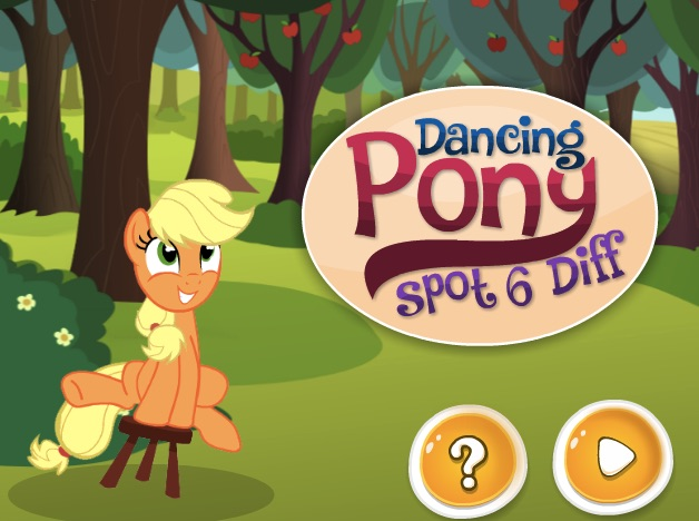 Dancing My Little Pony Six Differences