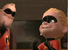 Dash and Mr Incredible Puzzle