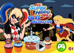DC Superhero Girls Cake Decoration
