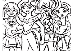 dc superhero coloring pages Dc Superhero Girls Coloring   Dc Superhero Girls Games dc superhero coloring pages