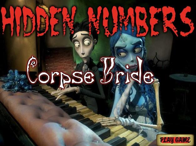 Dead Bride Hidden Numbers