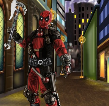 Deadpool Dress Up