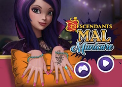 Descendants Mal Manicure