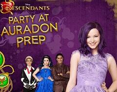 Descendants Party at Auradon