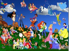 Disney Characters Puzzle