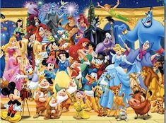 Disney Friends Puzzle