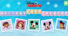 Disney Junior Holiday Card