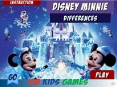 Disney Minnie Differences