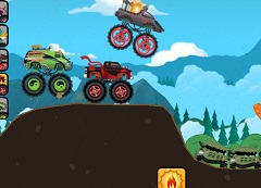 Disney Monster Truck Race
