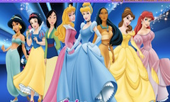 Disney Princess Hidden Letters