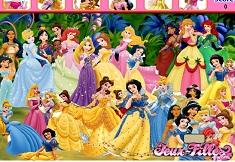 Disney Princess Hidden Objects