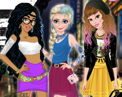 Disney Princess Tattoo Party