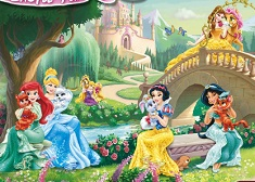 Disney Princesses Castle Fun