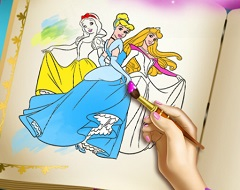 Disney Princesses Color Book