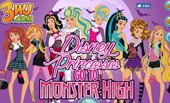 Disney Princesses go to Monster High
