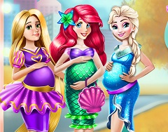 Disney Princesses Pregnant Fashion