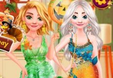 Disney Princesses Thanksgiving Day