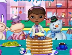 Doc McStuffin Pancakes