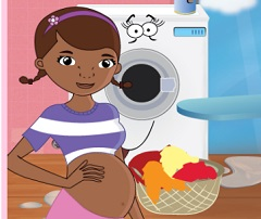 Doc McStuffin Pregnant Ironing