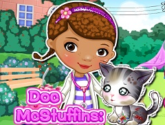 Doc McStuffin Save Cat