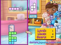 Doc McStuffin Tetris