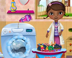 Doc McStuffin Washing Clothes