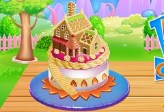 Doll House Cake Cooking Cooking Games