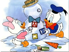Donald and Daisy Baby Puzzle