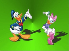 Donald and Daisy Dancing Puzzle