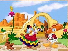 Donald and Daisy Samba Puzzle