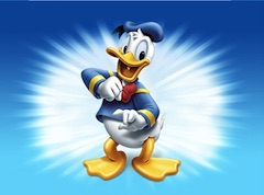 Donald Duck Happy Puzzle