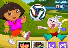 Dora and Boots Fifa Fans