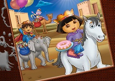 Dora and Diego Coloring - Jogos Online