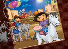 Dora and Diego Online Coloring