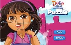 ドラと友達のパズルゲーム