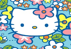Hello Kitty and the Bees