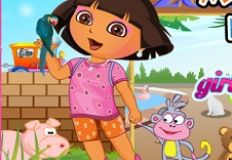Dora at Menagerie Dress Up
