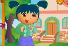 Dora at School
