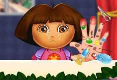 Dora at the Hand Doctor