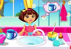 Dora Baby Caring