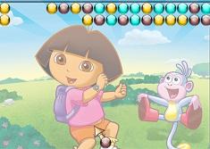 Dora Bubble - Jogos Online