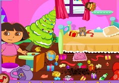 Dora Christmas Cleaning