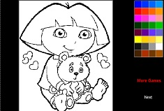 Dora Coloring